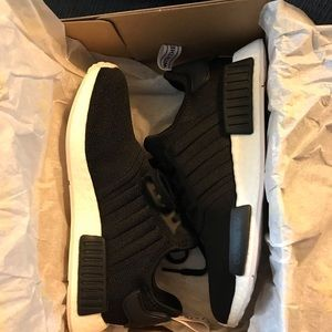 sale retailer 3990e 41923 adidas Shoes - Adidas NMD R1 Black  Orchid Tint